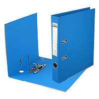 Папка-регистратор двухсторонний ,Prestige,РР 5cм,голубая,AXENT 1711-07C-А
