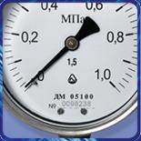 Манометр ДМ 05 063 вібростійкій (0...10кгс/м?) 2,5 М12х1,5