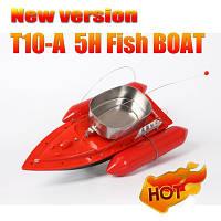 Радиоуправляемый кораблик для рыбалки  Торнадо 10, прикормочный катер для завоза прикормки