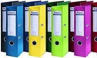 Папка-регистратор двухсторонний  Prestige,желтая, A4, корешок 7,5 см,AXENT 1712-08С-A