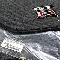 Nissan GTR GT-R 2009-15 коврики велюровые передние задние новые оригинальные