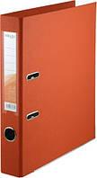 Папка-регистратор двухсторонний ,Delta by Axent, корешок 5 cм, оранжевая D1711-09C