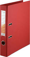 Папка-регистратор двухсторонний ,Delta by Axent, корешок 5 cм, красная D1711-06C