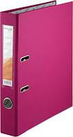 Папка-регистратор двухсторонний ,Delta by Axent, корешок 5 cм, розовая D1711-05P