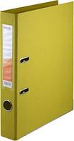 Папка-регистратор двухсторонний ,Delta by Axent, корешок 5 cм, желтая D1712-08P