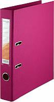Папка-регистратор двухсторонний ,Delta by Axent, корешок 5 cм, розовая D1712-05P