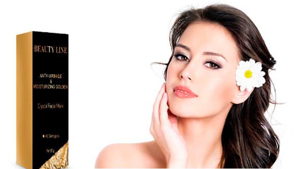 """BEAUTY LINE- омолаживающая маска для упругости кожи лица - Интернет-магазин """"SunKi"""" в Киеве"""
