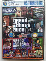 GTA + сборник игр 10в1 PC DVD