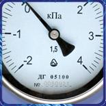 Тягонапоромер ДГ 05 100 модернизированный (-0,02...0,04кгс/м?) 1,5 M20x1,5