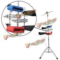 Многофункциональный барабан стенд клип серебро для колокольчиков колотушка колокольчика