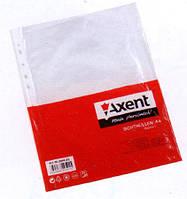 Файл А4 , глянцевий, 40мкм (100 шт.), AXENT 2004-00-А
