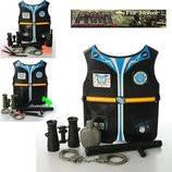 Игровой набор полицейского 0729-44-5-7-8