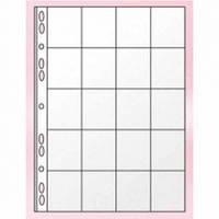 Файл для 20 монет Panta Plast, А4, 11 отверстий, PVC  0312-0005-00
