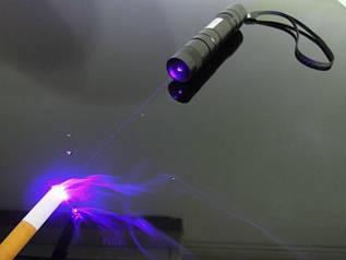Мощный ультрафиолетовый лазер 10000 МВт 405nm
