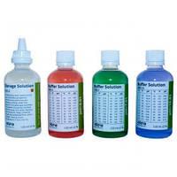 Набор буферных растворов для калибровки pH-метров и раствора для хранения электродов