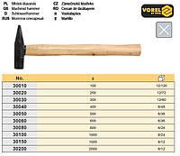 молоток слесарный Польша ручка дерево 600г VOREL-30060