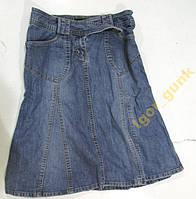 Юбка джинсовая H&M, 38, КАК НОВАЯ!