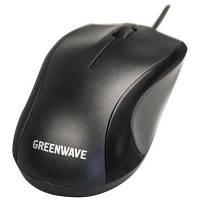 Мышка оптическая Greenwave Barra USB black 34109