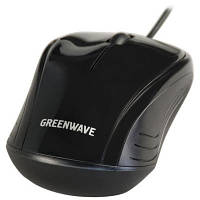 Мыша оптическая Greenwave Reykjavik USB black 34114