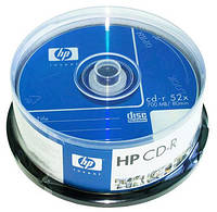 Диск CD-R Hewlett-Packard  700Mb 80min 52x bulk 50pcs 07722