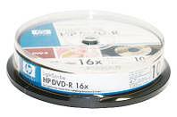 Диск DVD+R Hewlett-Packard  4.7Gb 16x Shrink  50 printable 28023