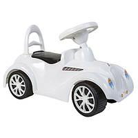 Машинка для катания РЕТРО белая Орион (900_Б)