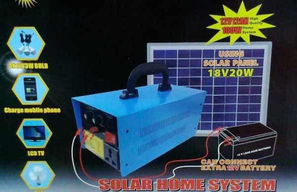 Cолнечная батарея - Солнечная домашняя аккумуляторная система GD 8018 - 100W тянет LCD телевизор - Plus в Одессе