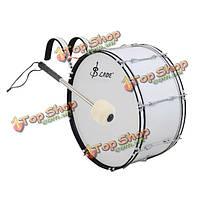 4.8см шерстяной войлок армейский молоток алюминиевый барабан палкой
