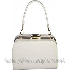 Женская сумка белого цвета , фото 2
