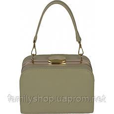 Женская сумка белого цвета , фото 3