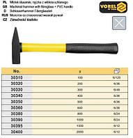 молоток слесарный Польша ручка стеклопластик TUV/GS 400г VOREL-30340