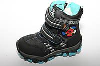 Детская обувь оптом.Зимние сноубутсы для мальчиков от Y.TOP разм (с 23-по 28)