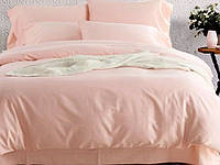 Однотонное постельное белье сатин люкс  Prestij Textile 09048