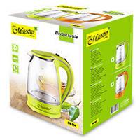 Электрический чайник салатовый, фото 1