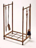 Подставка для дров + каминный набор Stilars 131976