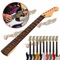 Электрическая гитара кленовый гриф 22 лада для замены й страт инструмента