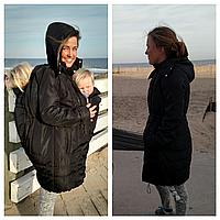 Слингопальто зимнее для слингомам, 4в1 (фото клиентки)