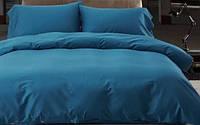 Однотонное постельное белье сатин люкс  Prestij Textile 09088