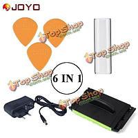 Джойо 6 в 1 части гитары адаптер питания питания выбирает строки чище и строка стекла ползунок