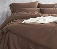 Однотонное постельное белье сатин люкс  Prestij Textile 08867