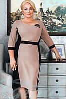 Элегантное платье футляр. Большие размеры.