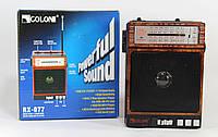Радио-приемник с фонарем RX-077 USB/SD MP3
