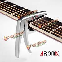 Аромат AC-01 гитара капо сплав цинка стальная пружина Tune зажим для гитары
