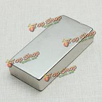 5шт неодимовый магнитный блок 50 х 25 х 10мм N52 магниты