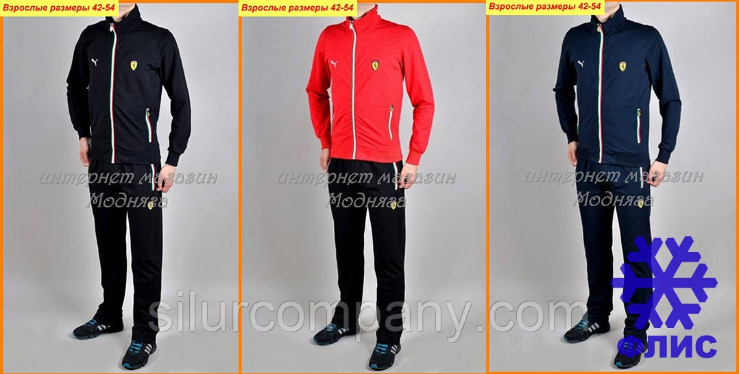 050dbafe Спортивные костюмы Ferrari Puma утепленный - Интернет магазин