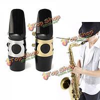 Альт-саксофон саксофон мундштук с колпачком пряжкой тростника патчи колодки подушки