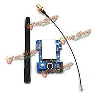 2.4g CC2500 a7105 FlySky FrSky Дэво DSM2 многопротокольной модуль ТХ с антенной