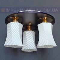 Люстра припотолочная IMPERIA трёхламповая LUX-464363