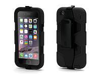 Защитный чехол Survivor Сочетание Силикона Пластика и Пленки для Apple iPhone 6/6s Black