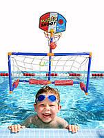 """Играем на воде!!!""(ворота+баскетб. кольцо)"